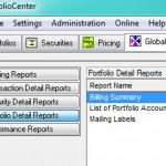 Don't use PortfolioCenter Billing Summary to verify invoices