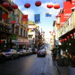 Chinatown Street in San Francisco