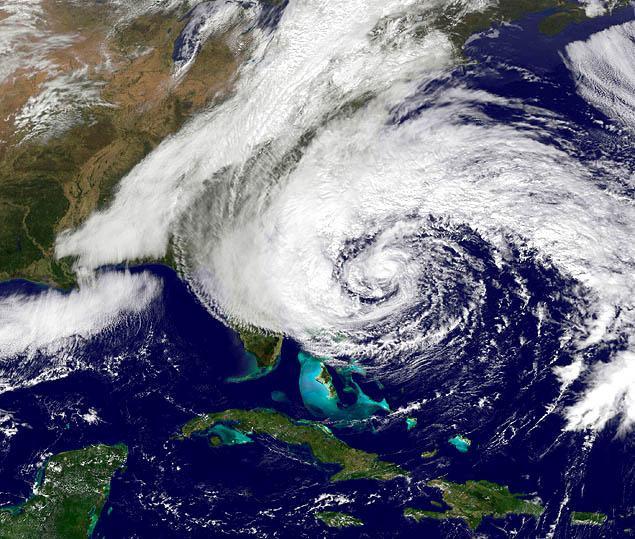Hurricane Sandy October 2012