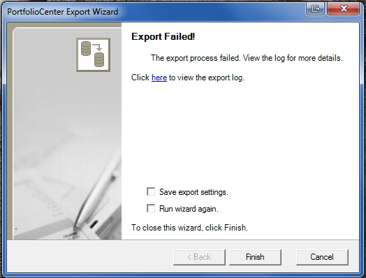 exportfailed